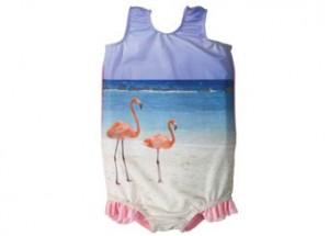 Schwimmanzug, flamingo, Sommer, Mädchen, Sonne, Badeanzug
