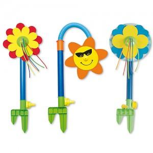 Spritzblume, Garten, Wasser, Wasserspaß im Garten,