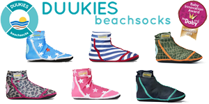 Duukies Beachsocks Strandsocken Strandschuhe Strand Kind UV