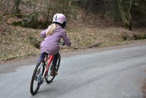 Jungen Fahrrad, Stadt, Mädchen Fahrrad, citybike