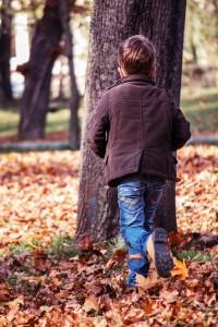 Herbst, Kinder, Jungen, Mädchen, Spiele, Basteln, Kastanien, Blätter,
