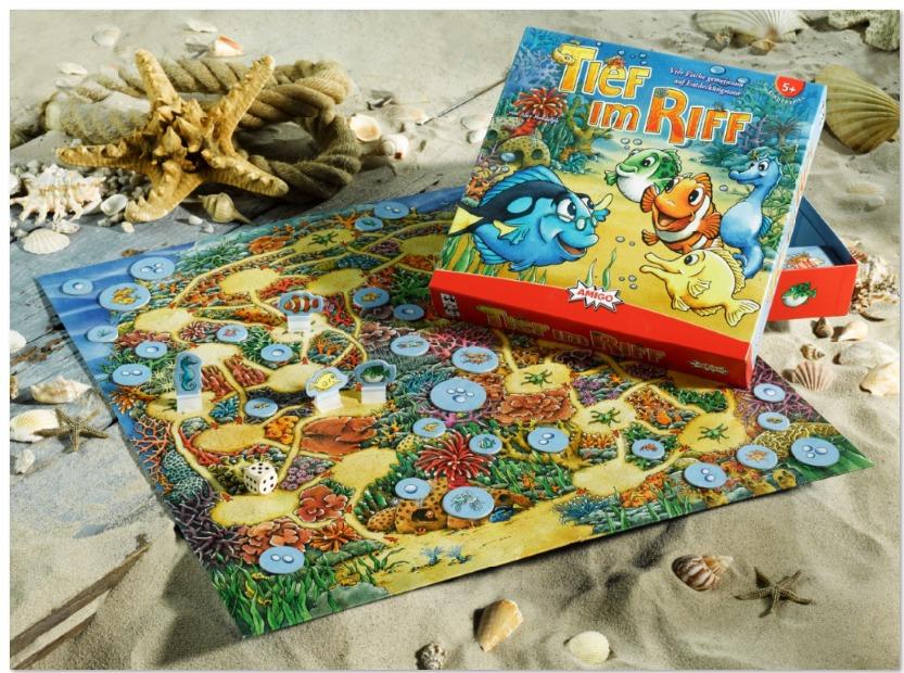 Tief im Riff,Spieletipp,Geschenk,Weihnachten,Geburtstag