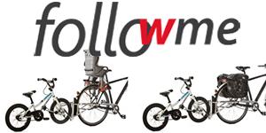 followme, Tandemfahrrad, Fahrrad Kind anhängen,